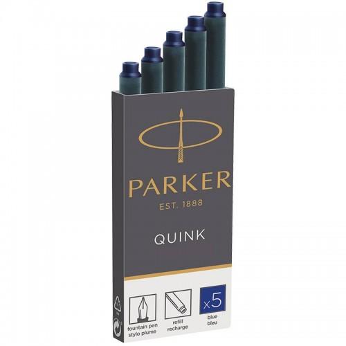 Синие картриджи Parker (Паркер) Quink Cartridges Blue 5шт в Нижнем Новгороде
