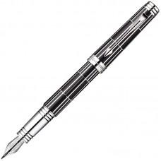 Перьевая ручка Parker (Паркер) Premier Luxury Black CT F 18K
