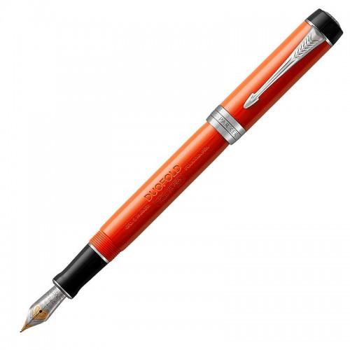 Перьевая ручка Parker (Паркер) Duofold Centennial Classic Big Red Vintage CT F в Нижнем Новгороде