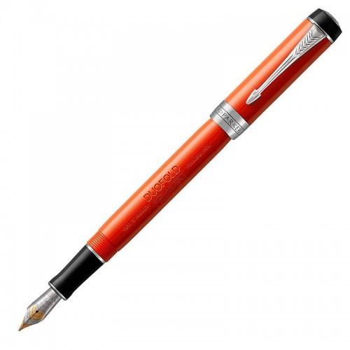 Перьевая ручка Parker (Паркер) Duofold International Classic Big Red Vintage CT F в Нижнем Новгороде