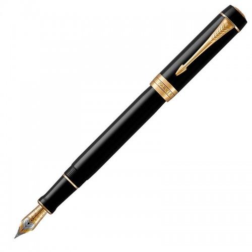 Перьевая ручка Parker (Паркер) Duofold Classic Centennial Black GT F в Нижнем Новгороде