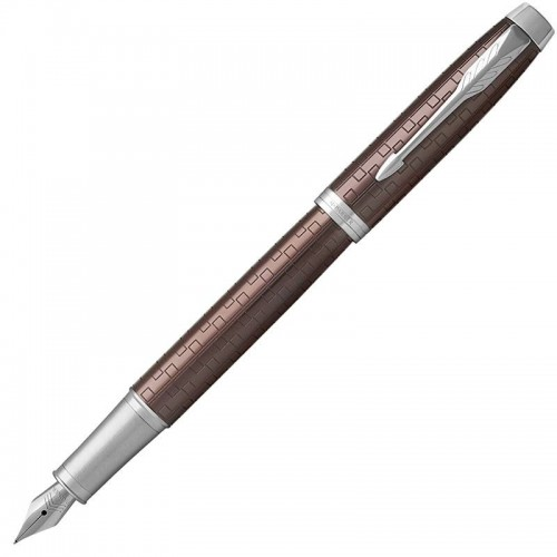 Перьевая ручка Parker (Паркер) IM Premium Brown CT F в Нижнем Новгороде