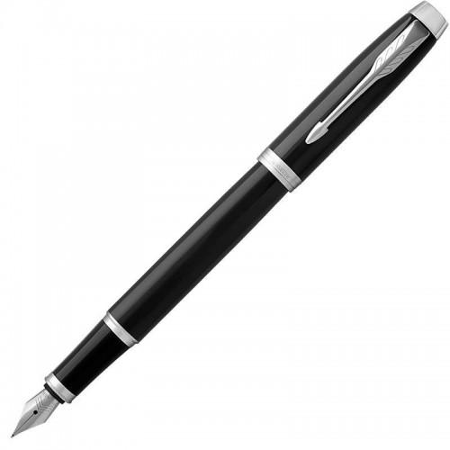 Перьевая ручка Parker (Паркер) IM Core Black Chrome CT F в Нижнем Новгороде