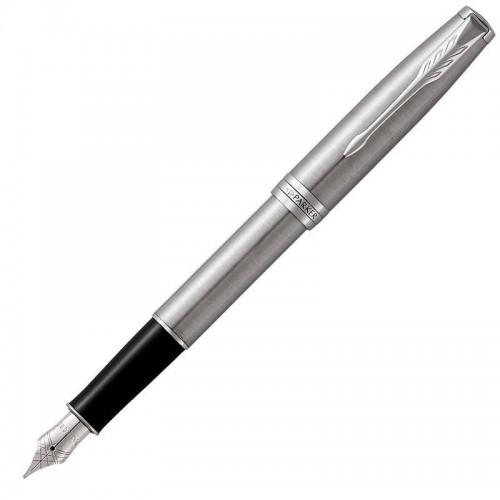 Перьевая ручка Parker (Паркер) Sonnet Core Stainless Steel CT F в Нижнем Новгороде