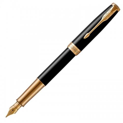 Перьевая ручка Parker (Паркер) Sonnet Core Black Lacquer GT F в Нижнем Новгороде