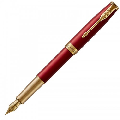 Перьевая ручка Parker (Паркер) Sonnet Core Red Lacquer GT F 18k в Нижнем Новгороде