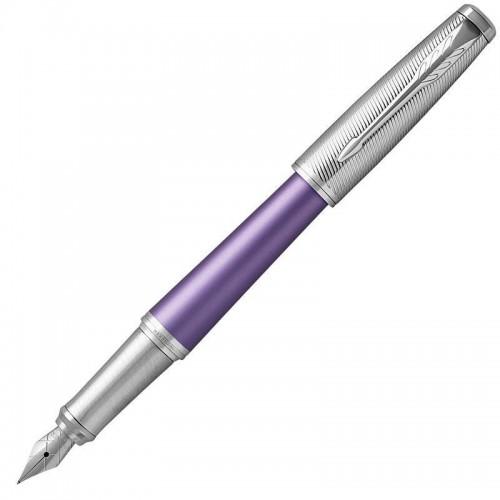 Перьевая ручка Parker (Паркер) Urban Premium Violet CT F в Нижнем Новгороде