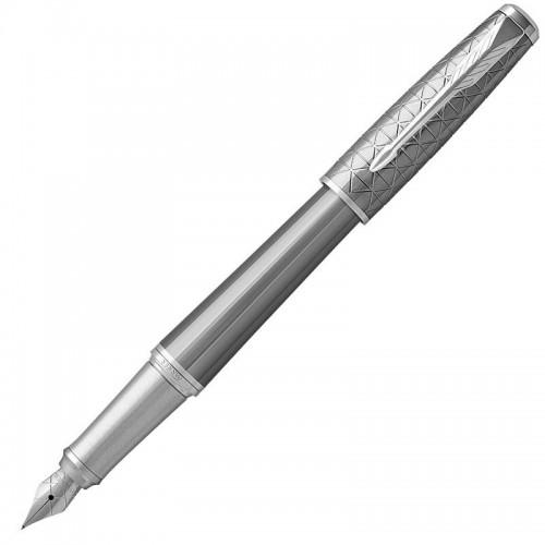 Перьевая ручка Parker (Паркер) Urban Premium Silvered Powder CT F в Нижнем Новгороде