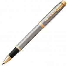 Ручка-роллер Parker (Паркер) IM Core Brushed Metal GT