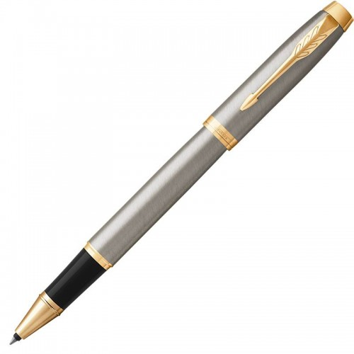 Ручка-роллер Parker (Паркер) IM Core Brushed Metal GT в Нижнем Новгороде