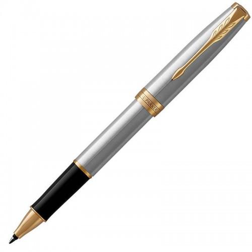 Ручка-роллер Parker (Паркер) Sonnet Core Stainless Steel GT в Нижнем Новгороде