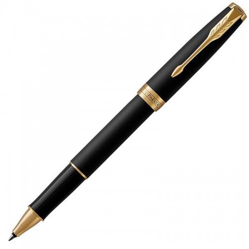 Ручка-роллер Parker (Паркер) Sonnet Core Matte Black Lacquer GT в Нижнем Новгороде