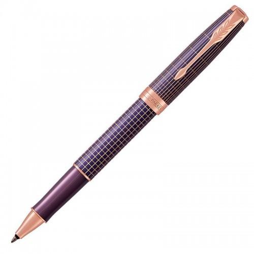 Ручка-роллер Parker (Паркер) Sonnet Luxury Cisele Purple Matrix PGT в Нижнем Новгороде