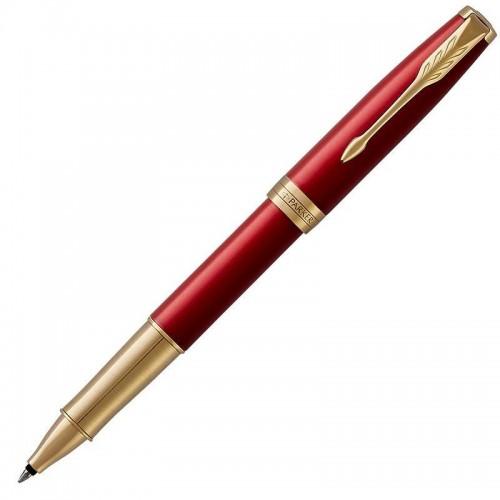 Ручка-роллер Parker (Паркер) Sonnet Core Red Lacquer GT в Нижнем Новгороде