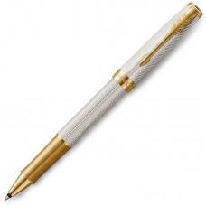 Ручка-роллер Parker (Паркер) Sonnet Fougere серебро 925 пробы GT