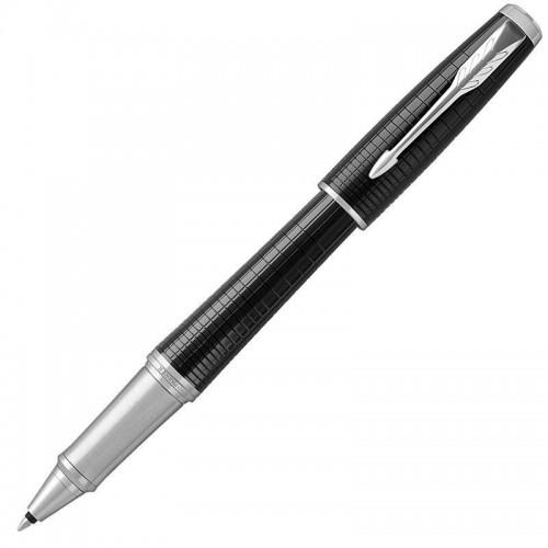 Ручка-роллер Parker (Паркер) Urban Premium Ebony Metal Chiselled CT в Нижнем Новгороде