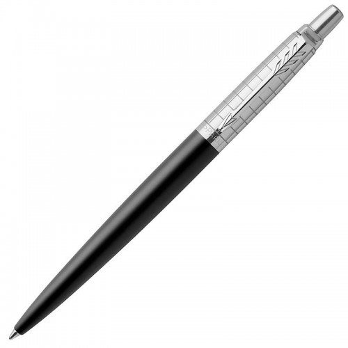 Шариковая ручка Parker (Паркер) Jotter Premium Bond Street Black Grid CT в Нижнем Новгороде