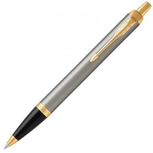 Шариковая ручка Parker (Паркер) IM Core Brushed Metal GT в Нижнем Новгороде