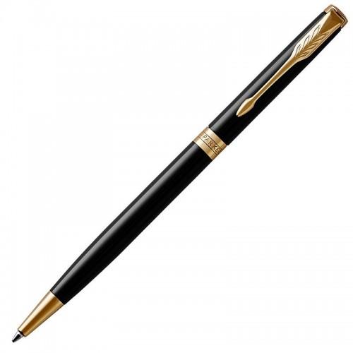 Шариковая ручка Parker (Паркер) Sonnet Core Slim Black Lacquer GT в Нижнем Новгороде