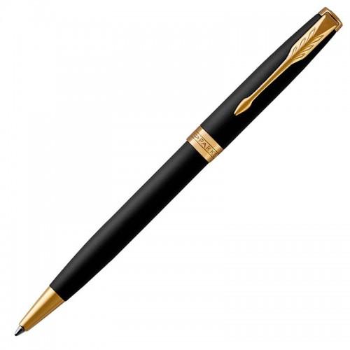 Шариковая ручка Parker (Паркер) Sonnet Core Matte Black Lacquer GT в Нижнем Новгороде