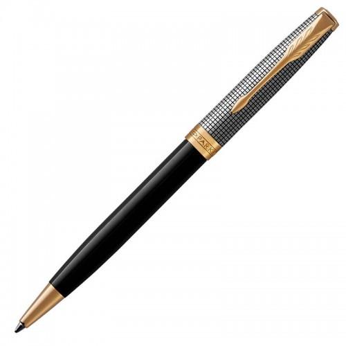 Шариковая ручка Parker (Паркер) Sonnet Premium Black Silver GT в Нижнем Новгороде