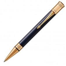 Шариковая ручка Parker (Паркер) Duofold Prestige Blue Chevron GT
