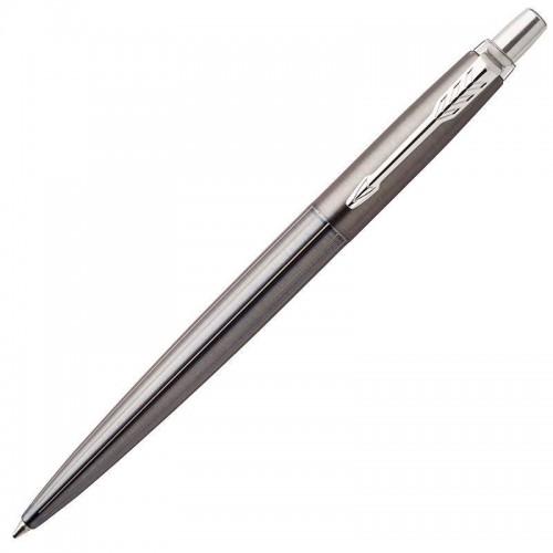 Шариковая ручка Parker (Паркер) Jotter Gel Premium Oxford Grey Pinstripe CT с гелевым стержнем в Нижнем Новгороде
