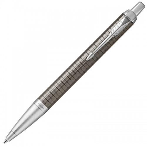 Шариковая ручка Parker (Паркер) IM Premium Dark Espresso Chiselled CT в Нижнем Новгороде