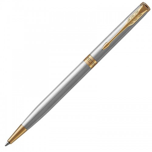 Шариковая ручка Parker (Паркер) Sonnet Core Slim Stainless Steel GT в Нижнем Новгороде