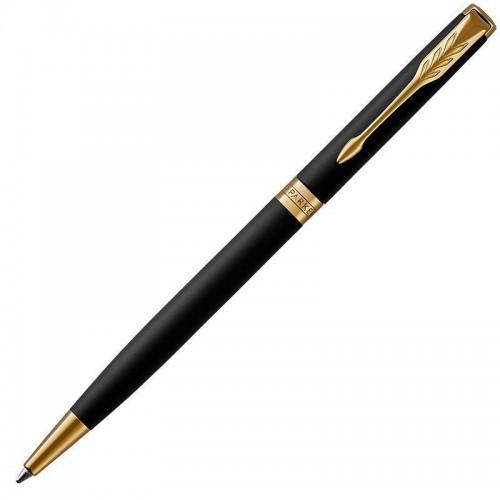 Шариковая ручка Parker (Паркер) Sonnet Core Slim Matte Black Lacquer GT в Нижнем Новгороде