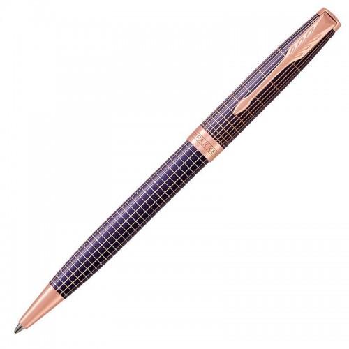 Шариковая ручка Parker (Паркер) Sonnet Luxury Cisele Purple Matrix PGT в Нижнем Новгороде