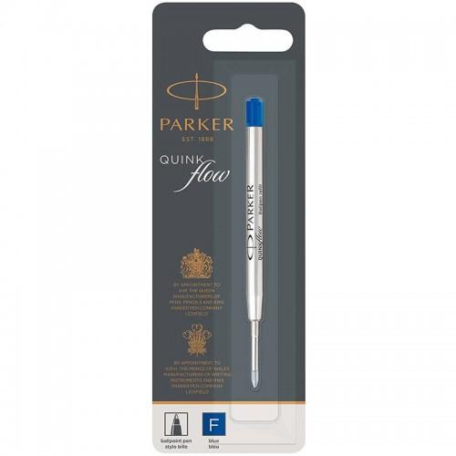 Синий шариковый стержень Parker (Паркер) Ball Pen Refill QuinkFlow Premium F Blue в Нижнем Новгороде