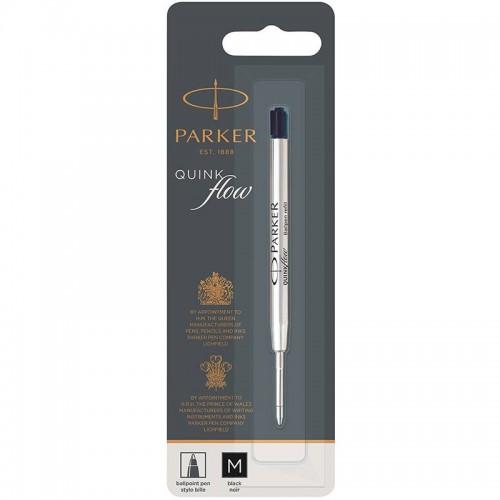 Чёрный шариковый стержень Parker Ball Pen Refill QuinkFlow Premium M Black в Нижнем Новгороде